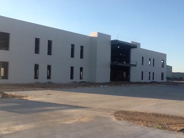 Wyman Gordon Industrial Construction Exterior Unfinished